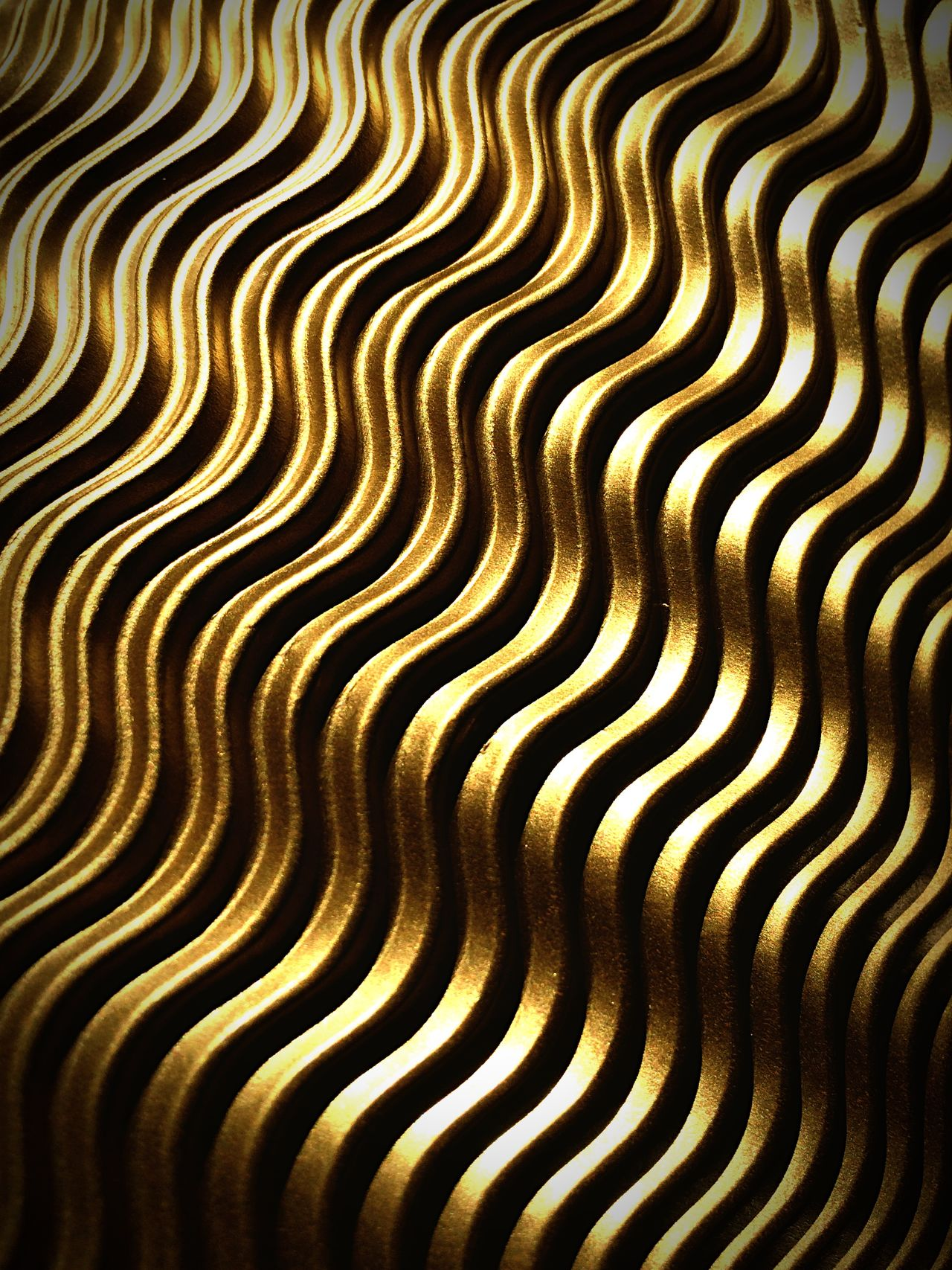 Structures Gold Throw A Curve Structure Paper Pappe Papier Light And Shadow Curve