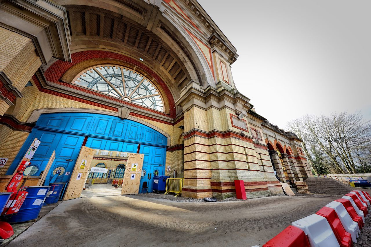 Alexandra Palace Restoration No People Travel Destinations Architecture Day Outdoors