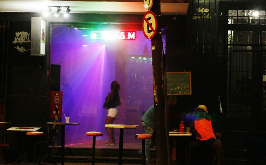 Noite na Lapa - Rio de JaneiroLapa Adults Only People Indoors  Night Adult Men Only Men Occupation