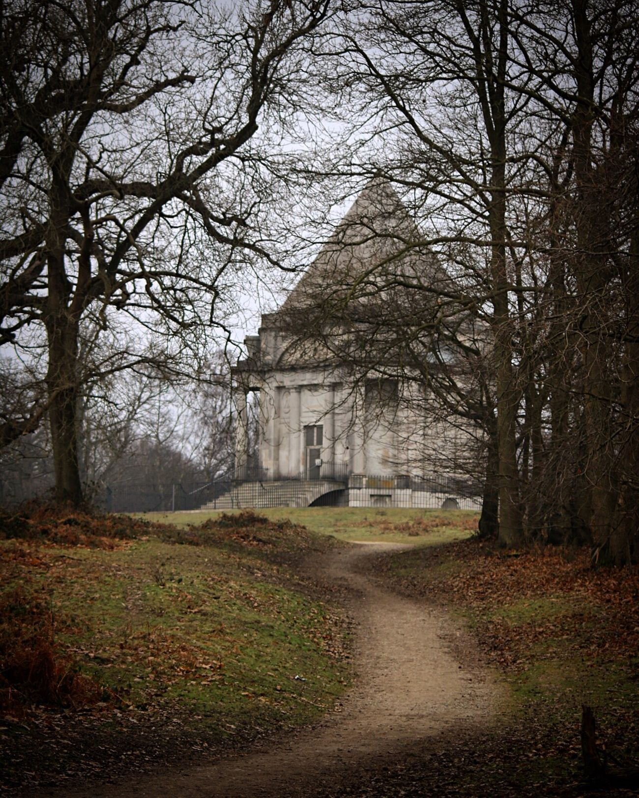 Tree Travel Destinations Architecture No People Nature Building Exterior Outdoors Beauty In Nature Day Sky Wood Woods WoodLand Cobham Mausoleum Nature