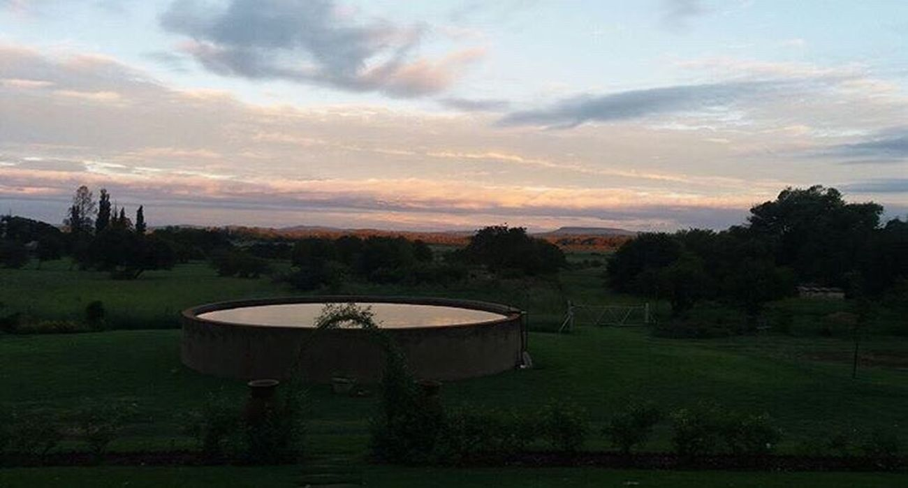 South Africa Farm Sunset Secondhome Childhood The Secret Spaces