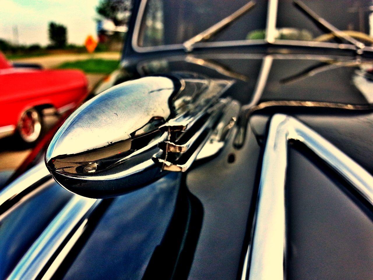 Detail shot of a car