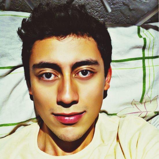 That's Me Selfie EyeEm Laying In Bed