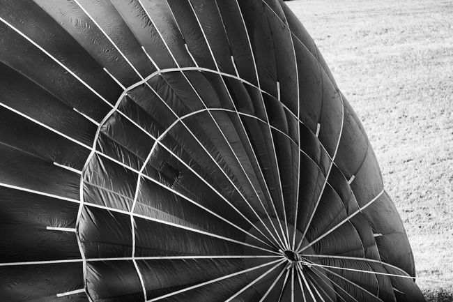 Hot air balloon Pattern Close-up Focus On Foreground Curve Black And White Geometric Shape No People Black & White Hot Air Balloon
