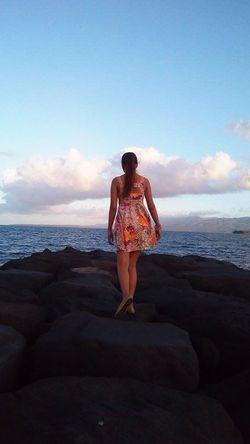 Exploring New Ground Sea Summer Dress