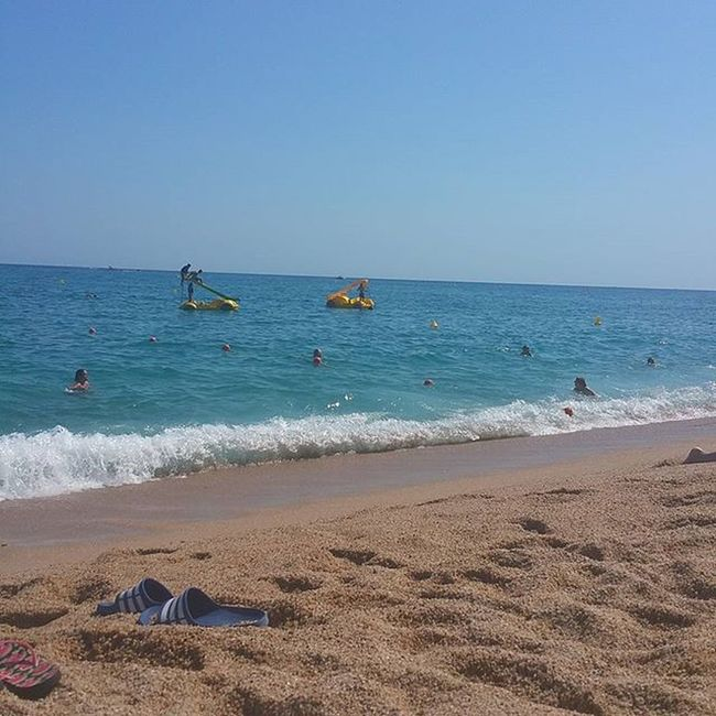 Tarda a marc…. ViuLloret Viulacostabrava Incostabrava Lloretdemar gaudeix_cat ig_catalonia loves_catalunya estaes_playas igcostabrava beachandheaven