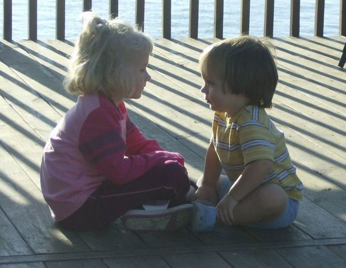 Childhood Cute Happiness Innocence My Lil Davian Person Real People Sitting Young Love Love Without Boundaries
