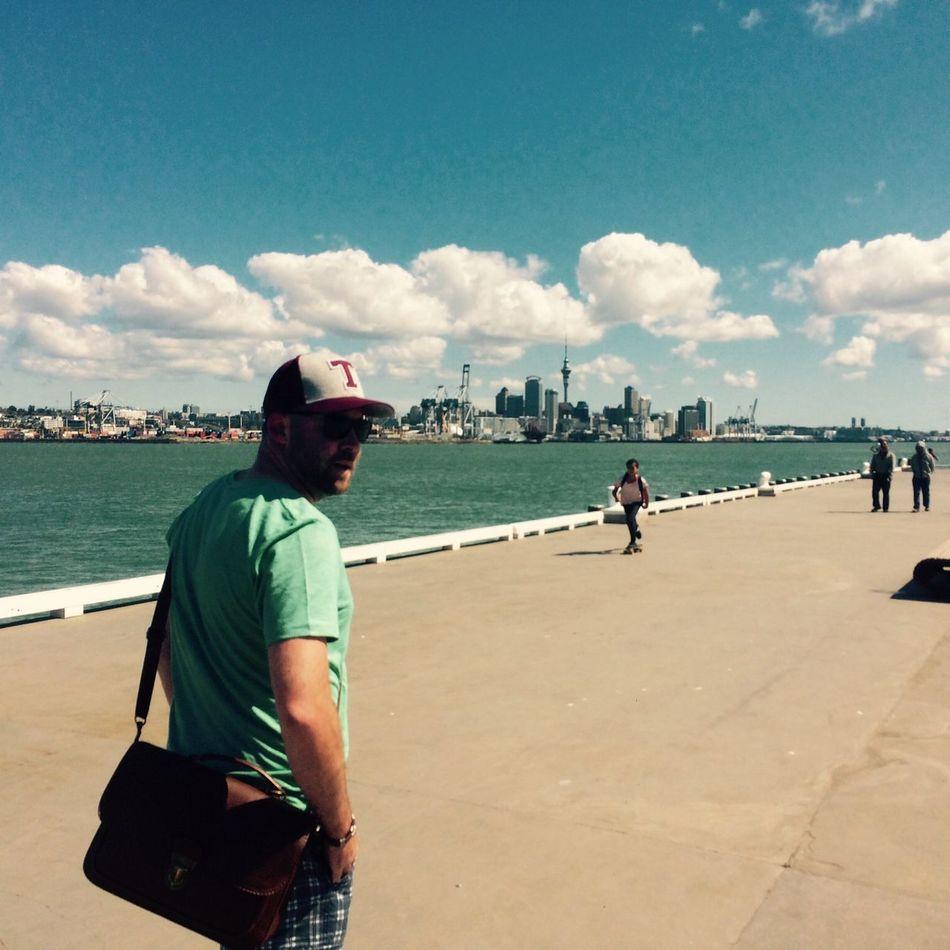 Auckland New Zealand Auckland Skyline