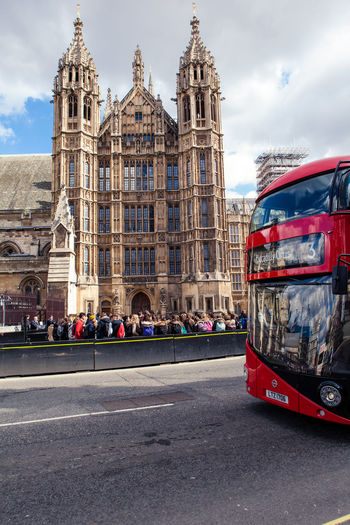 Architecture Boris Bus Building Exterior Built Structure Bus Car Cathedral Church City Famous Place Houses Of Parliament Incidental People Land Vehicle Place Of Worship Religion Sky Spirituality Street Transportation Travel Travel Destinations
