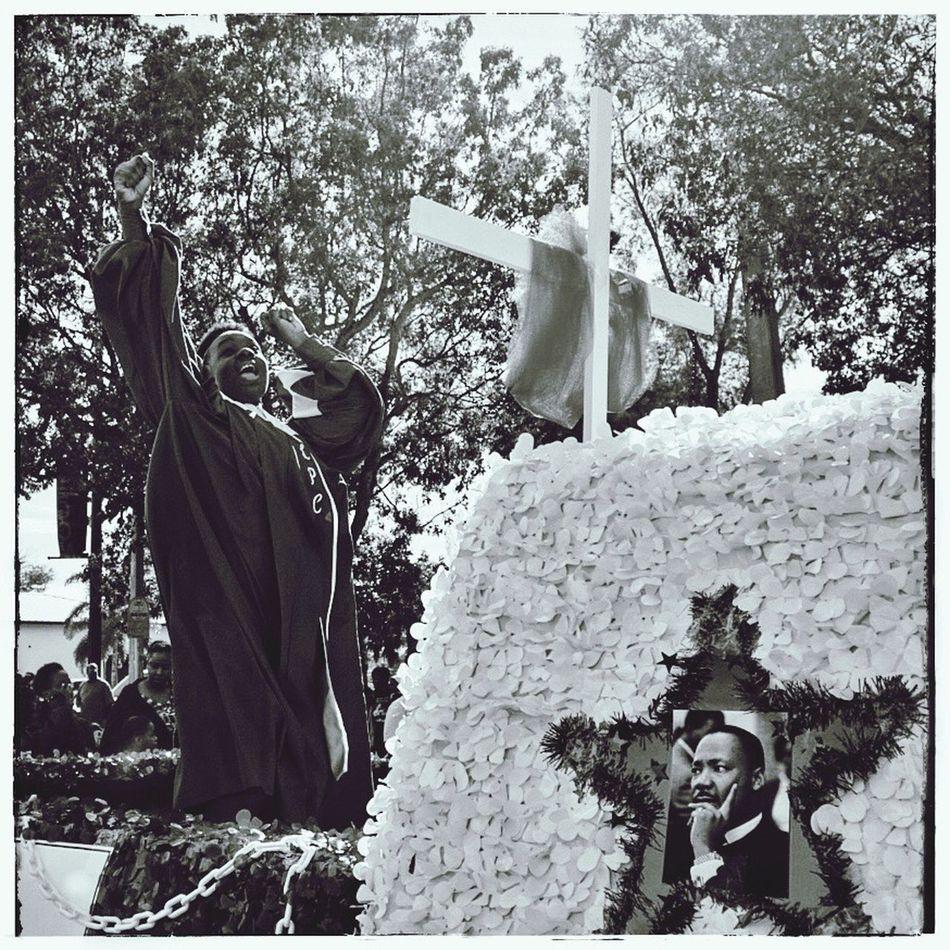 MLK parade in Deerfield Beach, Florida USA MLK MLK Day Religion Streetphotography Blackandwhite