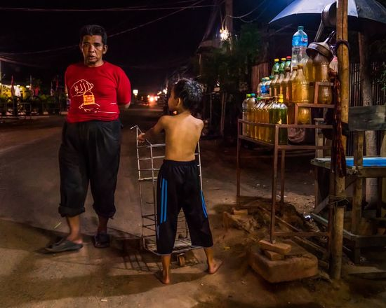 Cambodia 'Petrol for sale'
