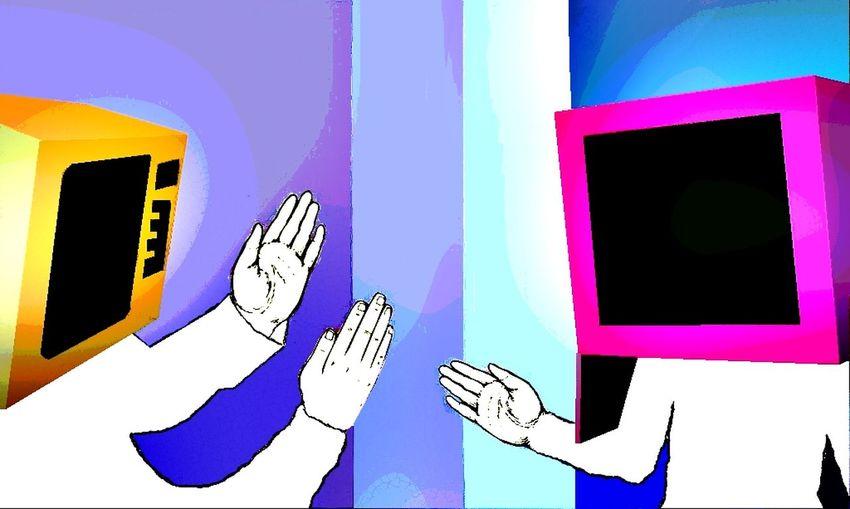 Mikrowelle vs. TV