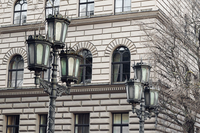 Architecture Building Exterior Built Structure City Day Lamp Lamp Post Light Outdoors Street Window