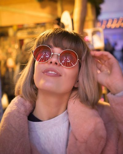 Sunglasses One Person Focus On Foreground Outdoors Portrait Real People Cool
