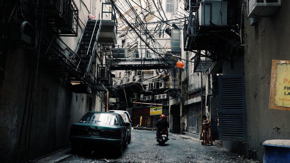 Urban ghetto. Alleyway at Chinatown Binondo in Manila, Philippines. #Streetart #chinatown #ghetto #urban #urbanphotography #wandering Street Streetphotography
