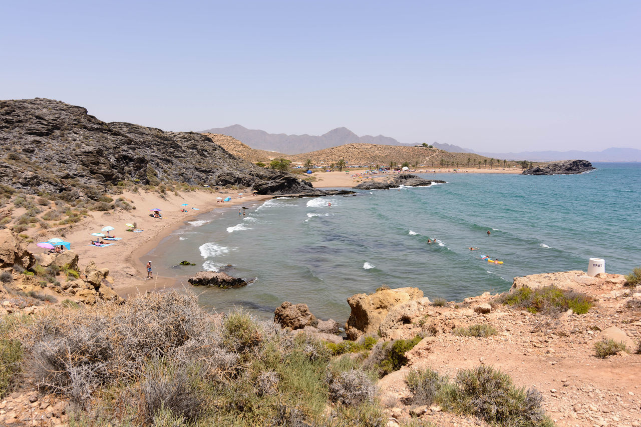 España🇪🇸 Murcia National Park Nature Percheles SPAIN Travel Travel Photography Traveling Beach Beauty In Nature Day España Landscape Mountain Nature Sand Scenics Sea Sky Summer Tourism Tranquil Scene Tranquility Travel Destinations