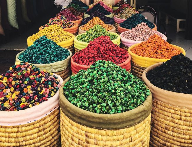 Marocco Marrakech Market Souks Fragrance Of Flowers Colorful EyeEmNewHere