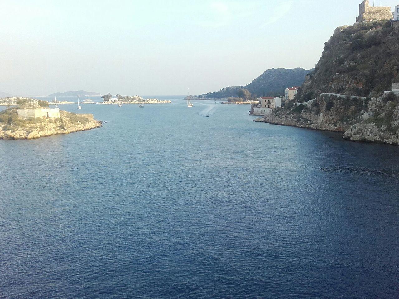 Kastellorizo Beautiful Island Enjoying Life 450 Inhabitants Taking Photos Greece