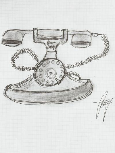 Black And White Pencilart Pencil Sketch  Nostalgia