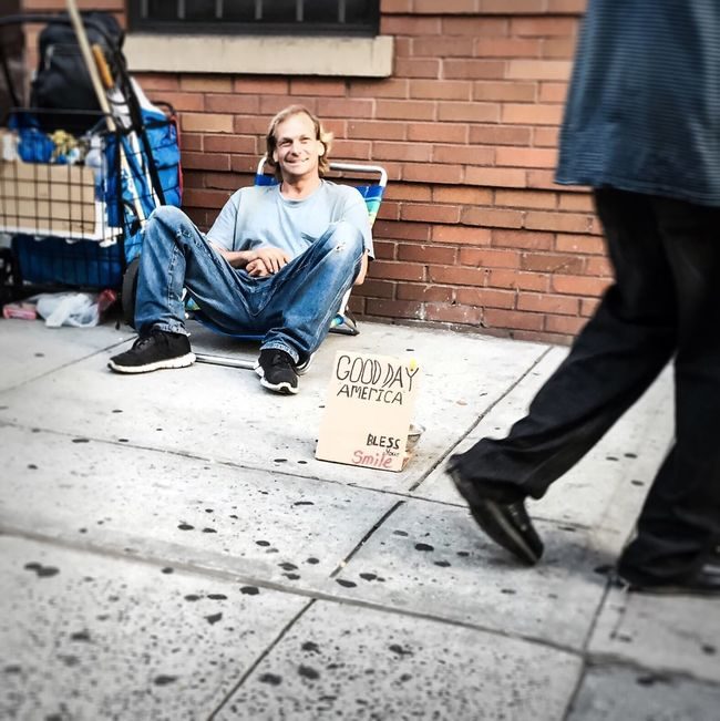 #homeless #people #summer2016 #14th #street #nyc #gothamsambassador