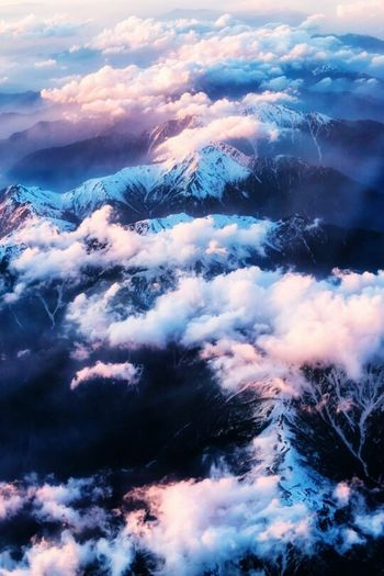 ☁☁ Blue White Cloudscape Beauty In Nature Cloud - Sky Nature Cloud Day Softness Environment Aerial View Meteorology Beauty In Nature Cloud - Sky Cloudscape Nature White Aerial View Environment First Eyeem Photo
