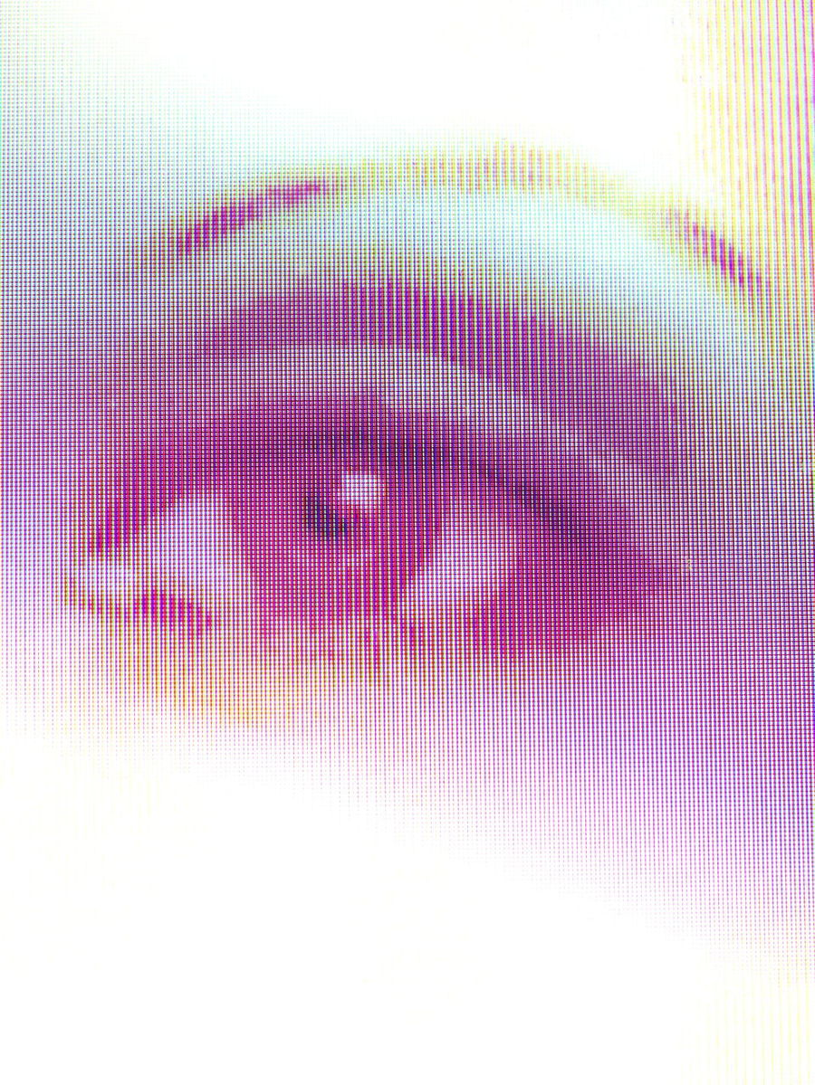Rasterized Close-up Eye Full Frame Indoors  Multi Colored No People Pink Color Purple Raster Studio Shot Technology