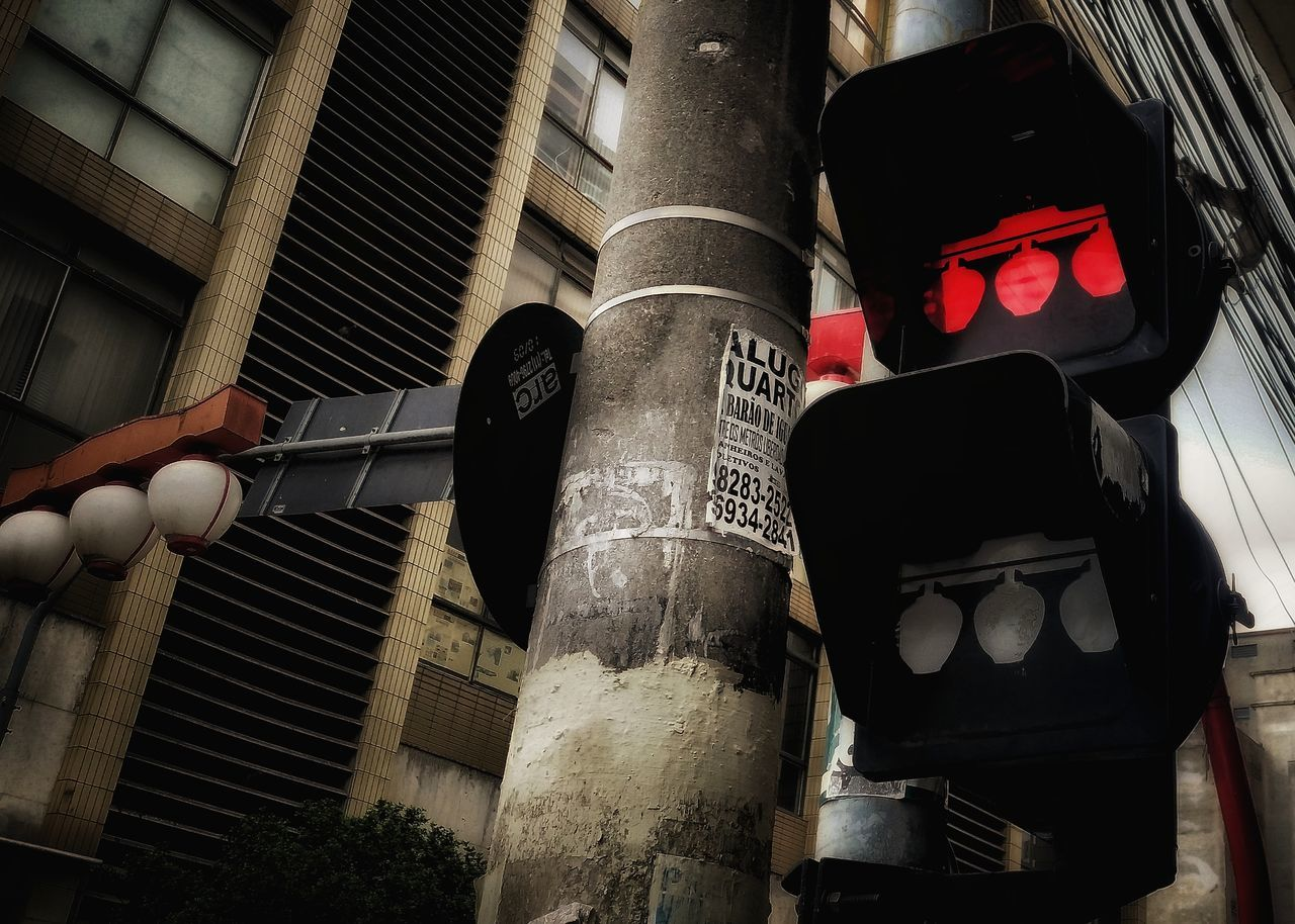 Protection Outdoors Red Light No People Day LiberdadeSP Downtown District Urbanphotography Saopaulocity Sao Paulo - Brazil Japanese Traditional Stop Light