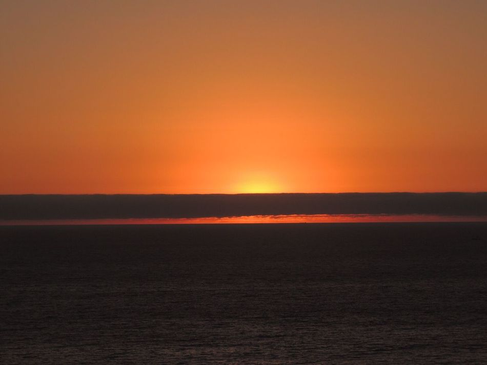 Sunset Another Beautiful Sunset 🌅 Sunset Today Sunset And Clouds  Sunset And Sea Orange Sunset Sun Through The Clouds Amazing Sunset Enjoying The Sunset From Where I Stand In Front Of Reñaca Beach , Chile