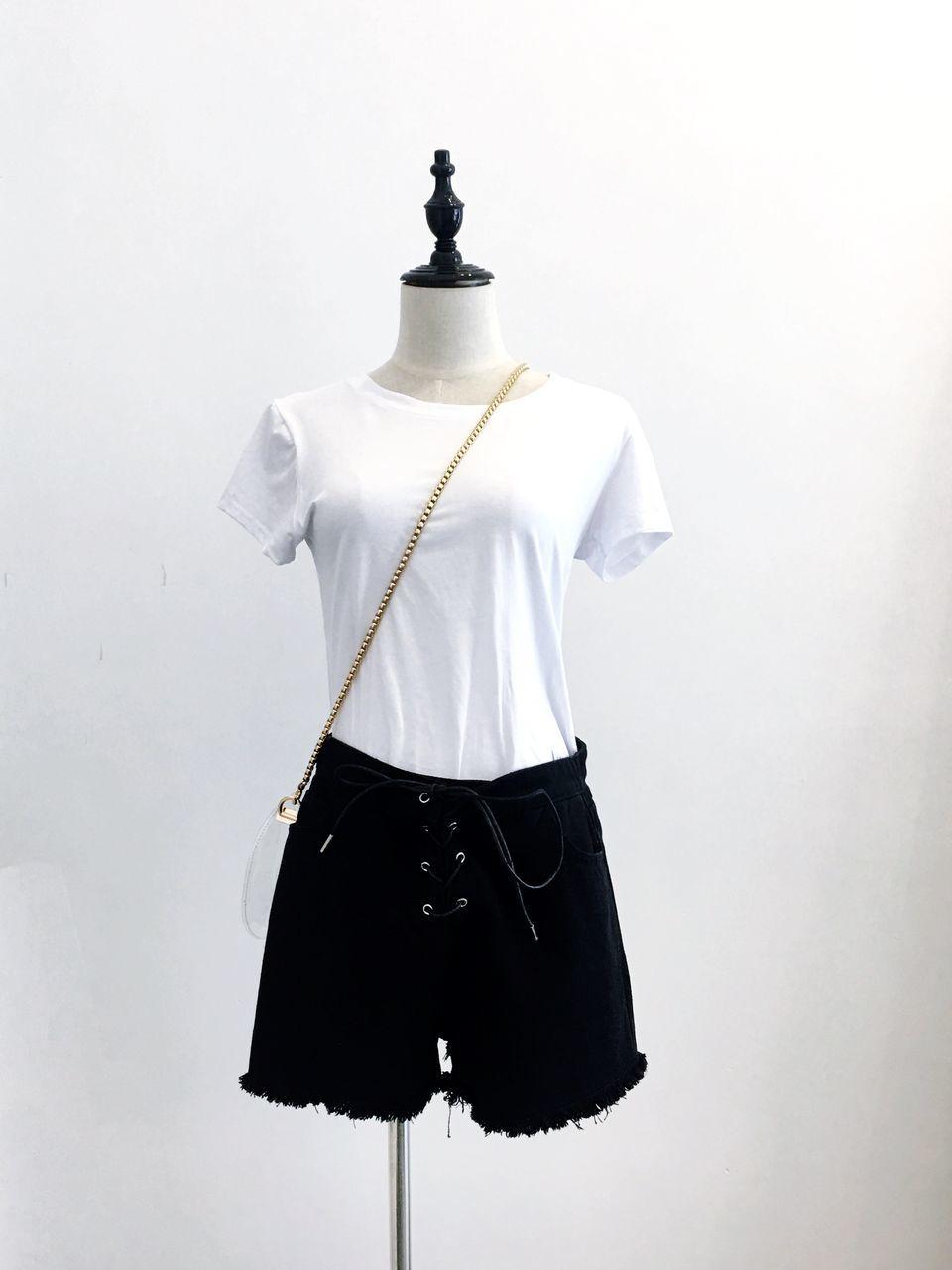 mannequin, fashion, t-shirt, studio shot, white background, no people, day