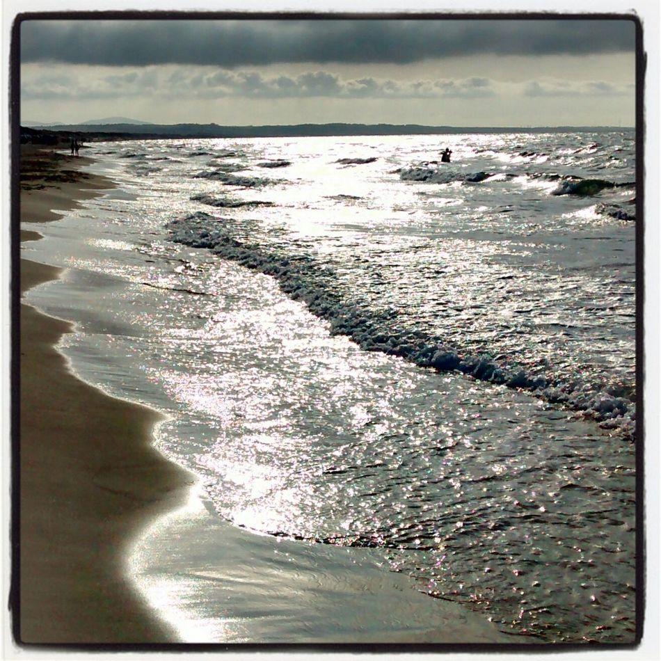 Silver sea Sea And Sky Remembering Summer2014 Terra Sarda  Riflessi