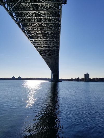 water under the bridge Endofyear Bestofeyeem2017 Architecture Water Bridge - Man Made Structure No People City Skyscraper Sea Outdoors Built Structure Sky