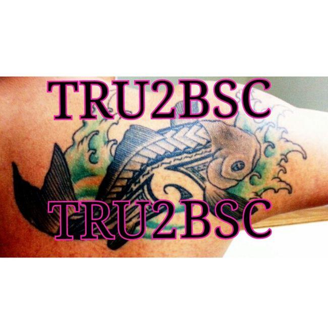 tribalkoitattoo tatted inked #TRU2BSC Tatted Inked Tribal Koi TRU2BSC Tattoo