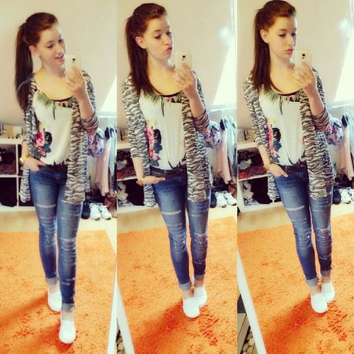 ✌? Girl Me Happy S5 new haircolor shopping brown jeans cute hi instagirl ootd l4l instagramers picoftheday instagramers lovely bye