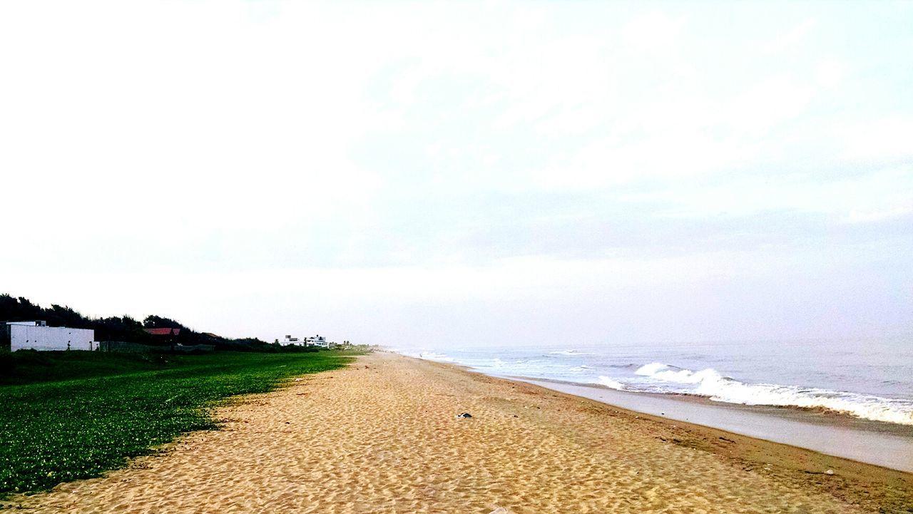 Chennai India Beachphotography Sand Cholamandalam Artist Village Bay Of Bengal Nature