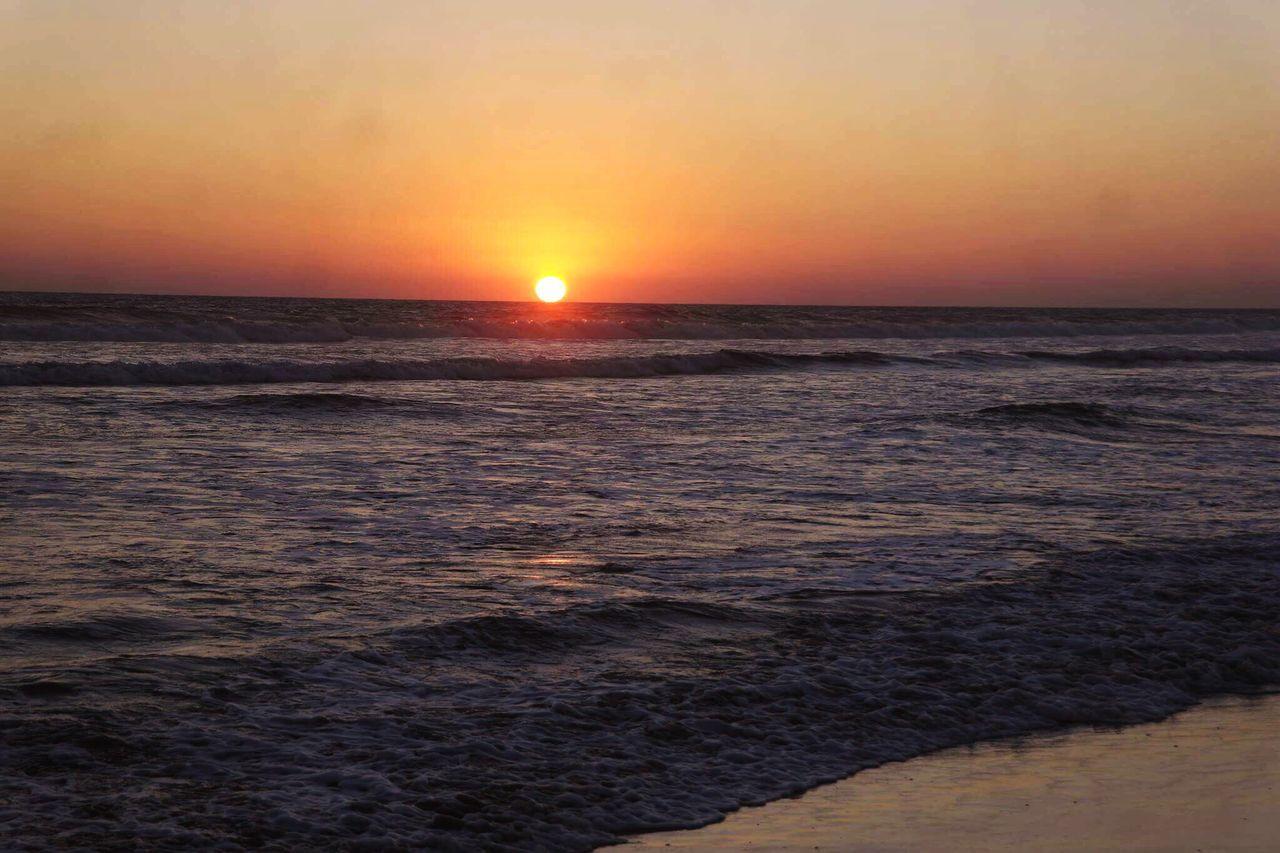 Atardecer Belleza Sunset Nature Tranquility Water Horizon
