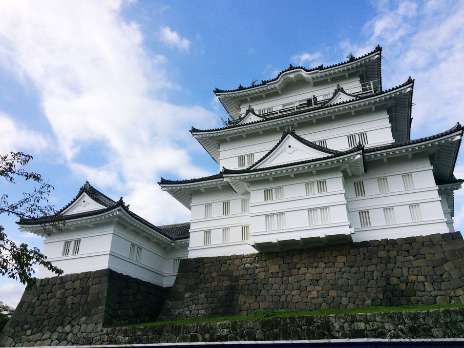 Architecture Building Exterior Built Structure Sky Low Angle View Day City No People Outdoors Castle Odawara Odawara Castle / Japan Japan Tradition Culture