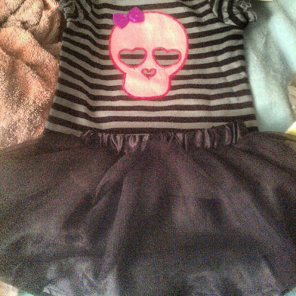 New clothes for my new niece. Baby Skulls Girlsrule