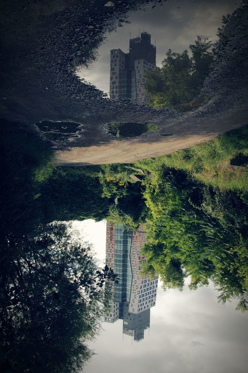 Az Tower Check This Out First Eyeem Photo Street Brno Czech Tower Street Photography The Magic Mission Architecture Adam112 Architecture_collection Built Structure Mirror Reflection Reflection Reflections Water Reflections