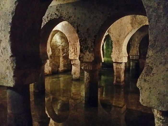 Water Reflections Cáceres Aljibe SPAIN Water Museo Cáceres Architecture Arabe Water_collection Ancient Architecture Ancient Civilization Historical Building Historical Monuments