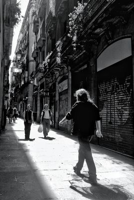 blackandwhite in Barcelona by Ria Molde