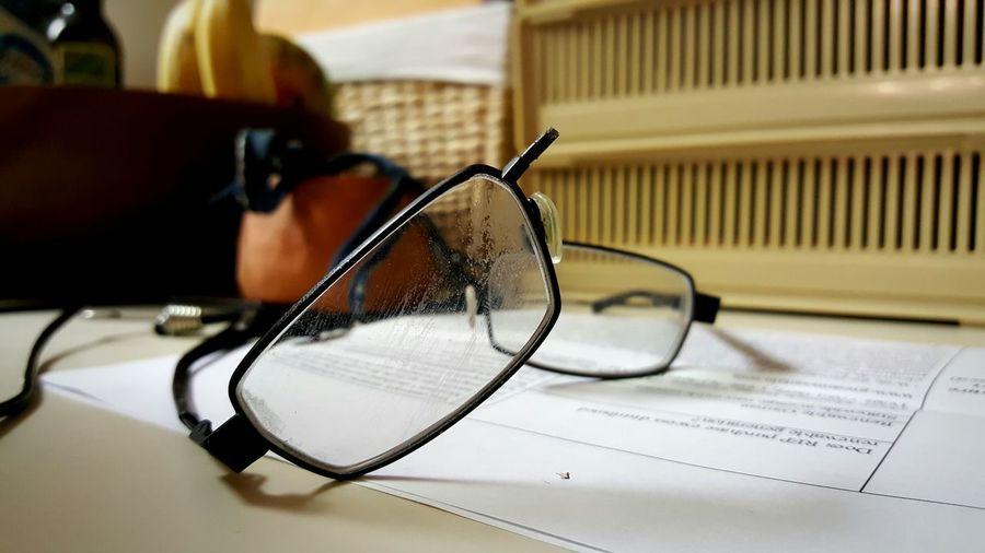 Broken frames Glasses