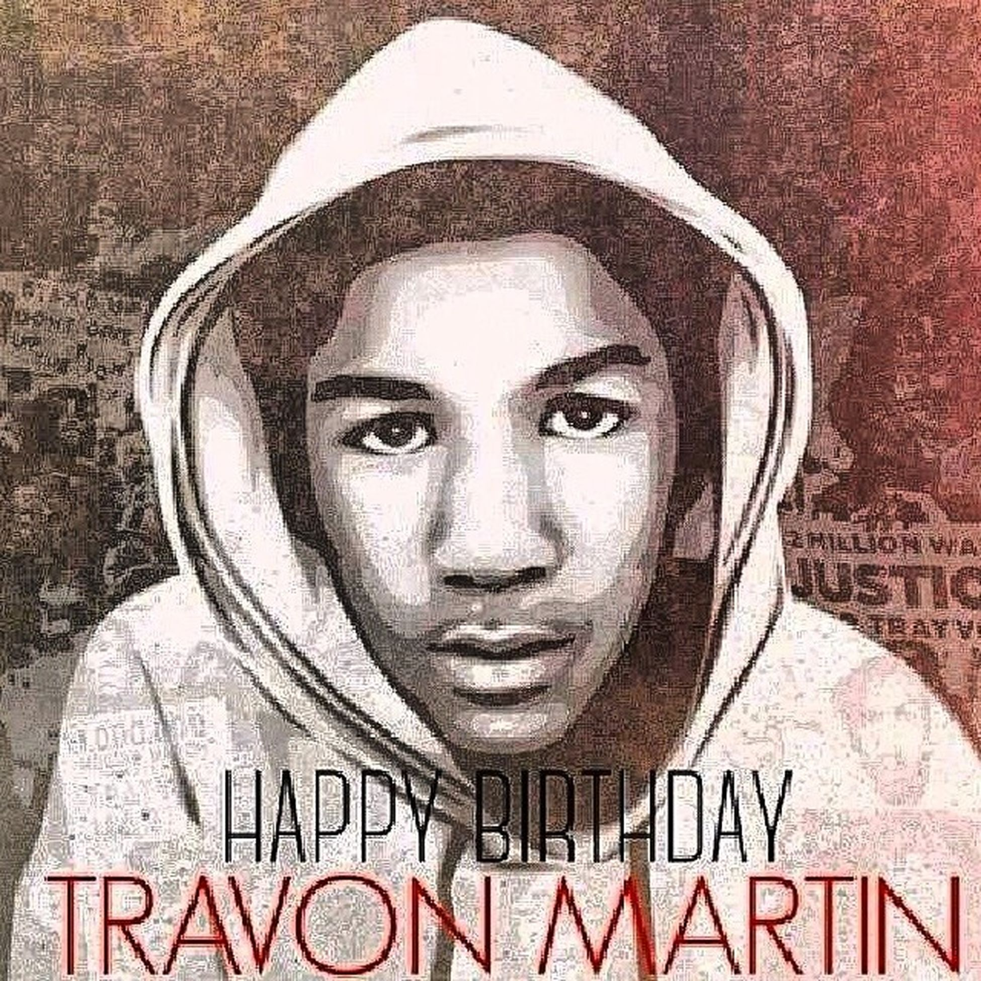 Happy bday R.I.P Travonmartin ???