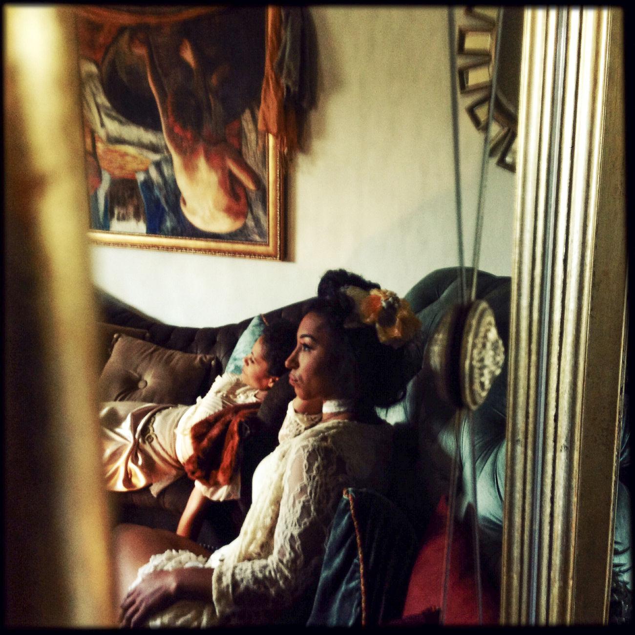 Reflection Fashion Photography Indoors  Mirror Portrait Reflection Reflections Square The Portraitist - 20I6 EyeEm Awards