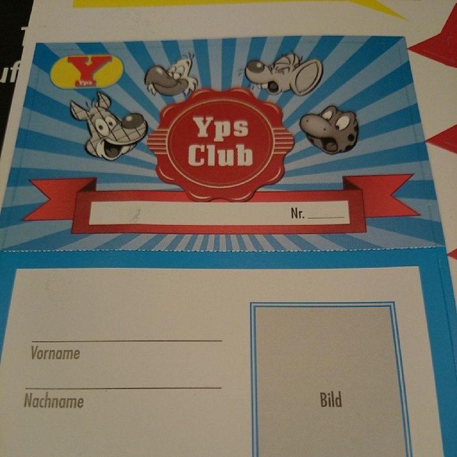 ...wer macht mit bei meinem Ypsclub ? Ypsheft Yps OperationKindsKopf