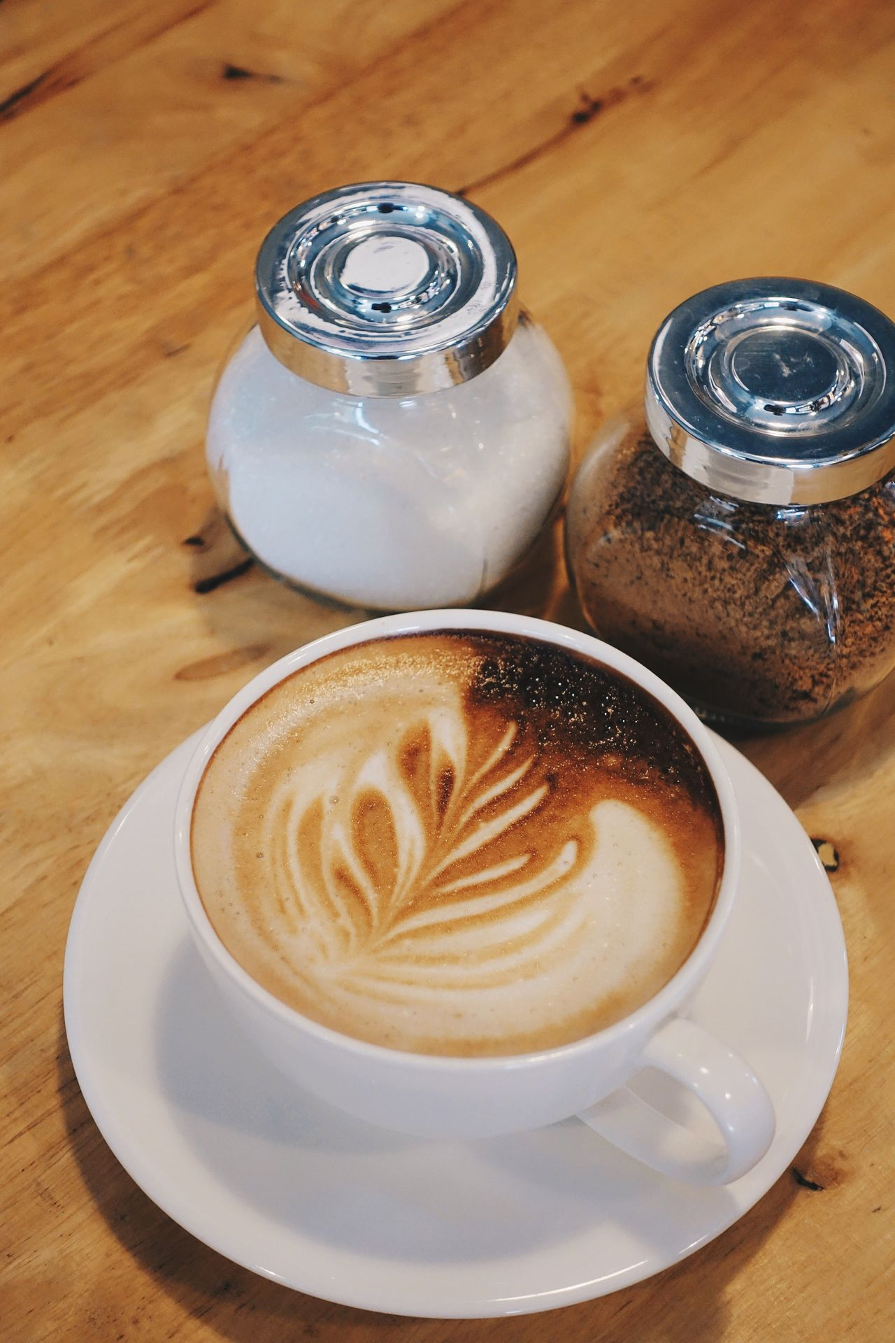 Happiness in a cup Table Coffee - Drink Food And Drink Cappuccino Indoors  Freshness Close-up Latte Froth Art Relaxing Coffee Coffee Break Coffee Time Take A Break Startup Refreshment Delicious Cup Of Coffee