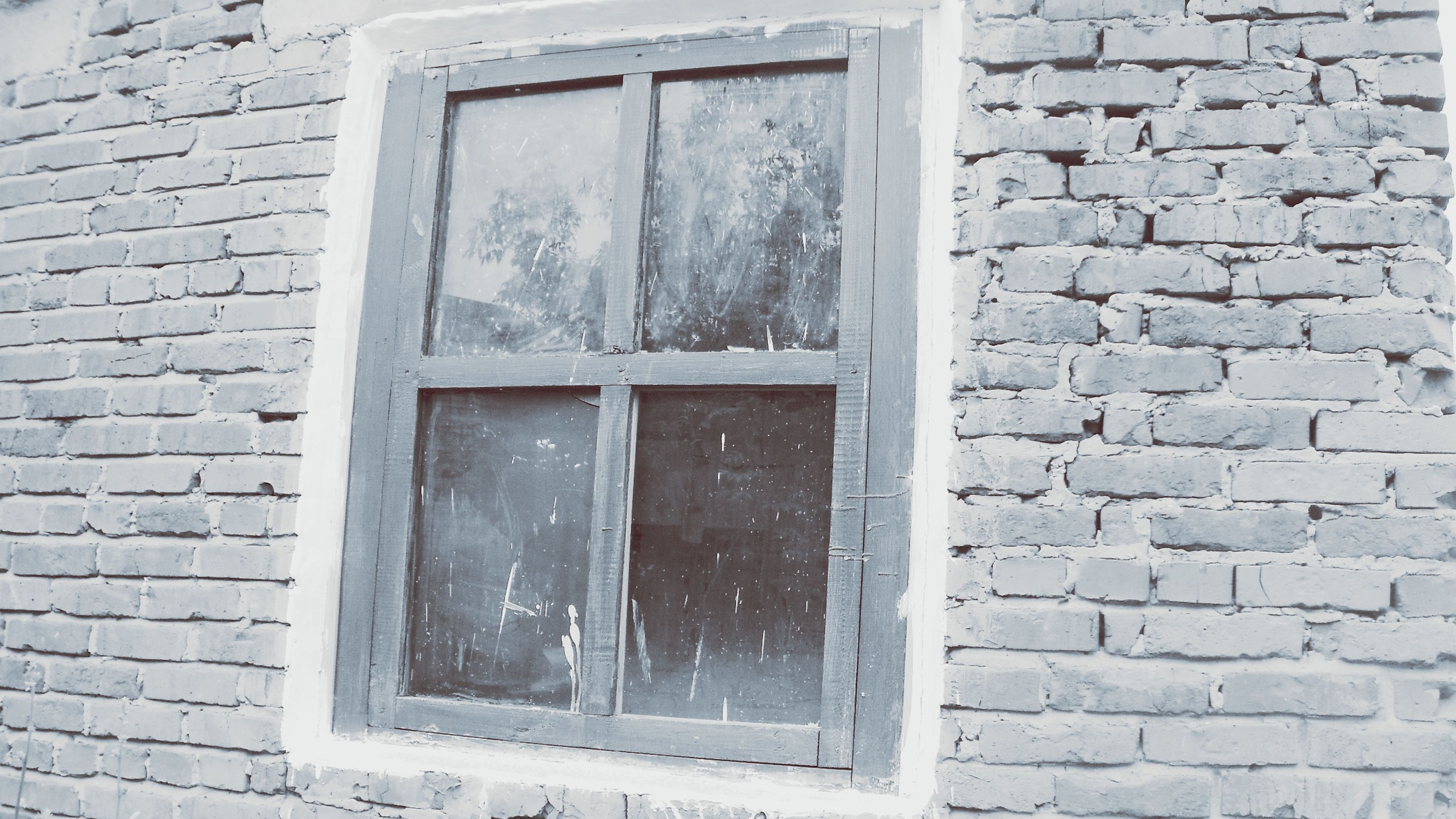 building exterior, architecture, built structure, window, brick wall, house, wall - building feature, closed, door, old, wall, day, outdoors, weathered, close-up, no people, glass - material, stone wall, residential structure, safety