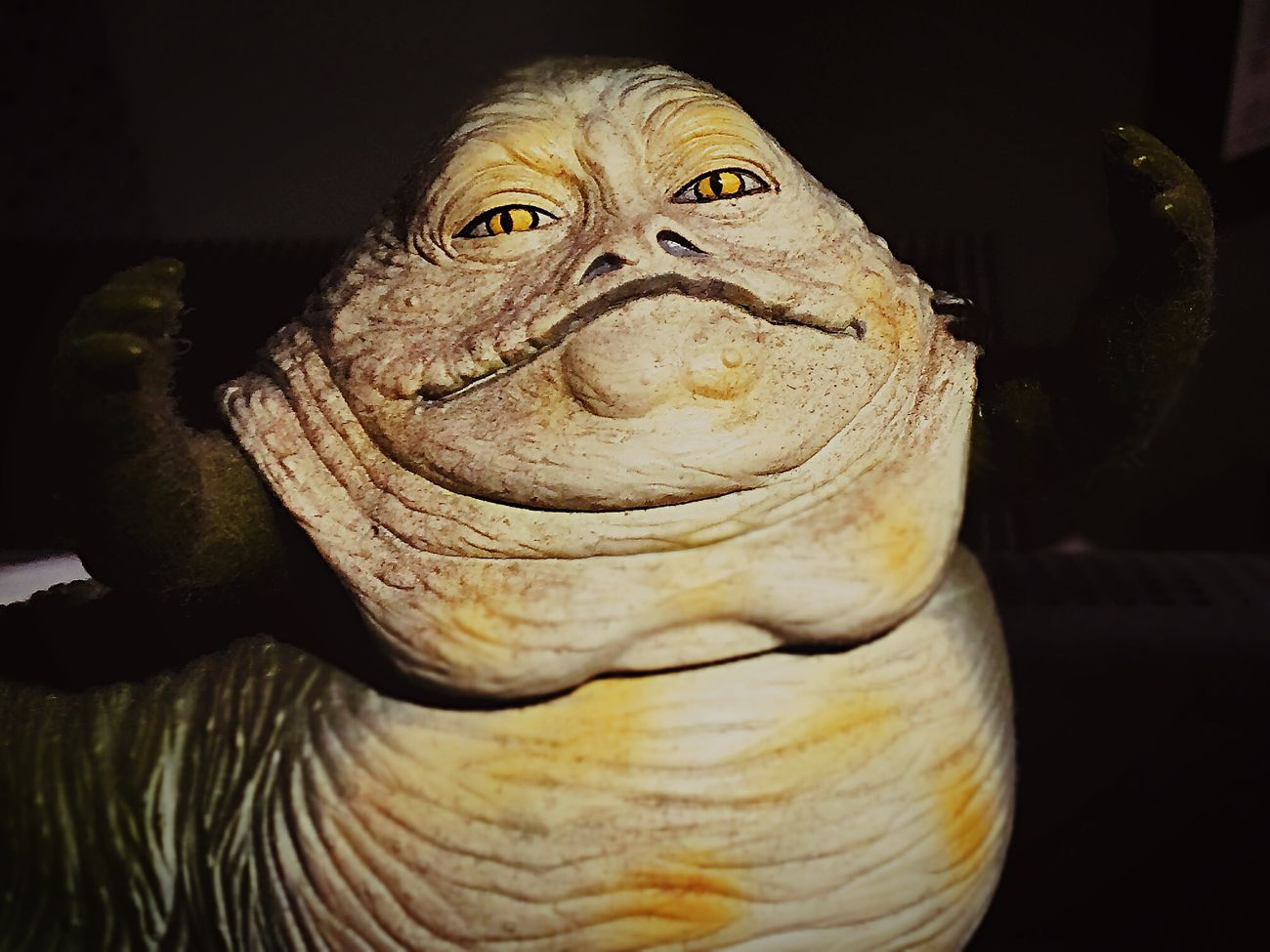 My co-worker today Jabbathehutt Starwars