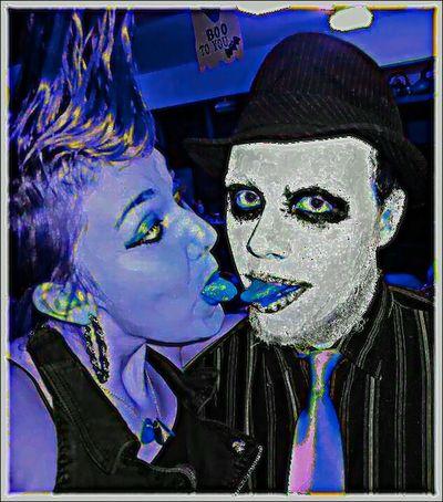 Skully Jack Kissitkoolaid Halloween Crazy Love