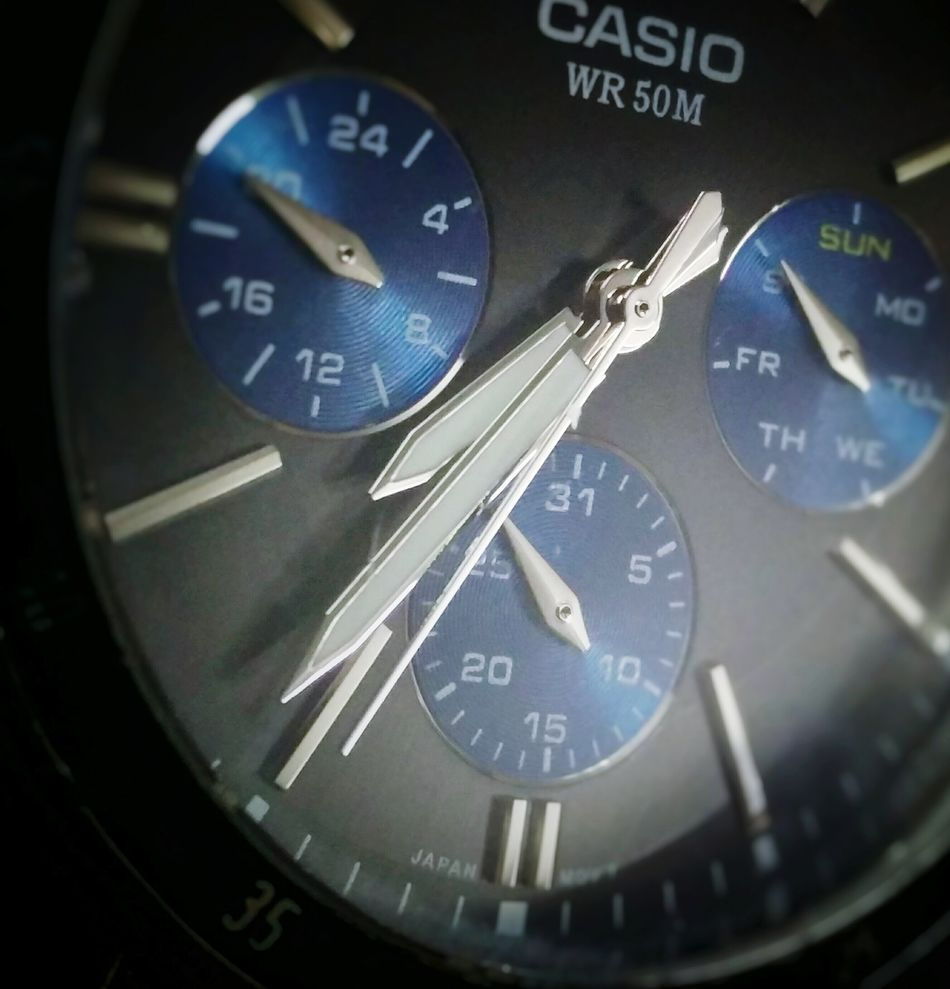 Clock Face Clock Time Minute Hand Close-up Instrument Of Time Metal Black Background Second Hand TimercCasio Casiowatch Casio Watch Number Clock Face Clock Time Minute Hand Close-up Black Color Instrument Of Time Metal Black Background Maximum Closeness Time never stops for anyone.