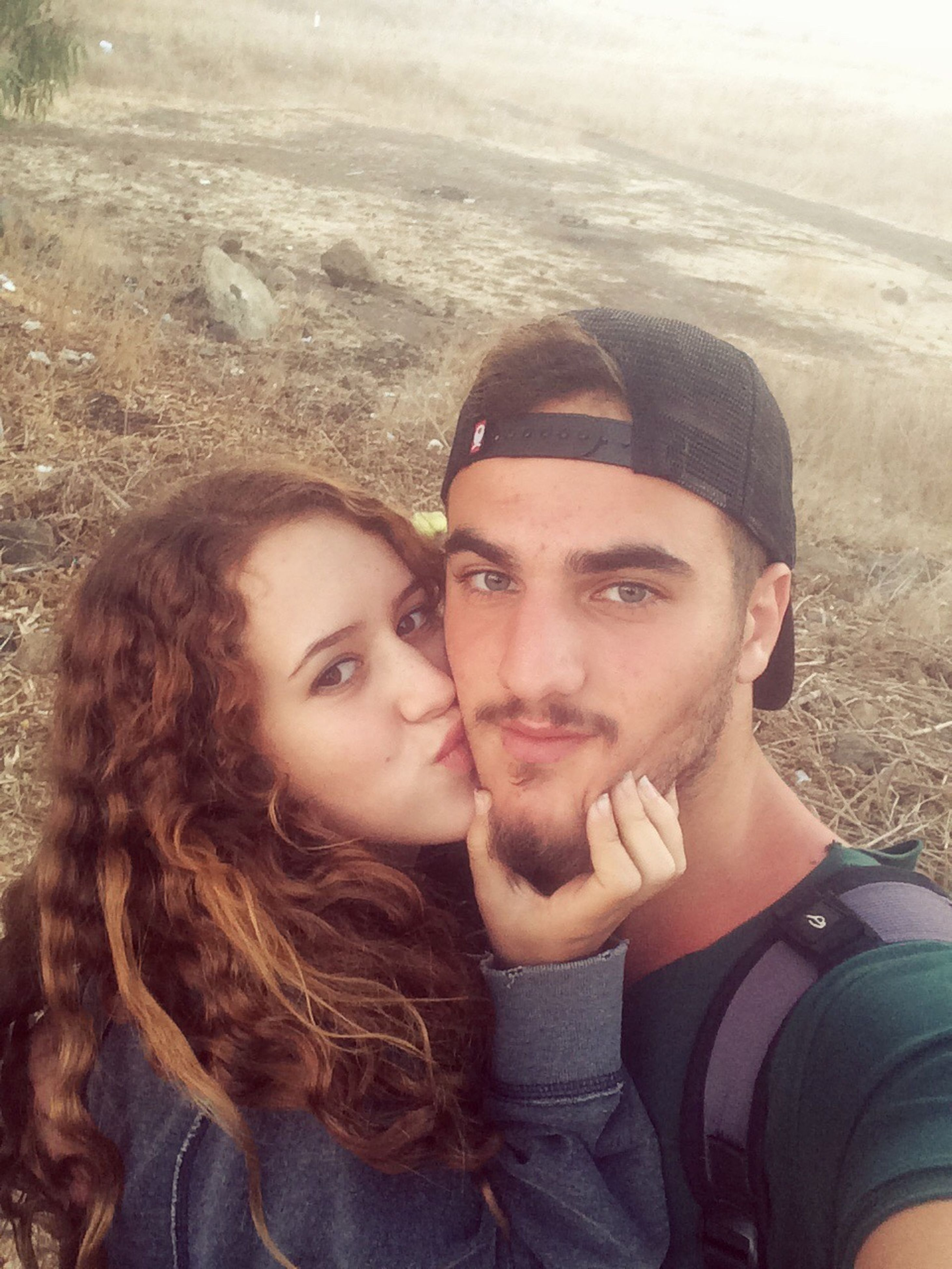 two people, young adult, portrait, young women, looking at camera, beautiful people, love, togetherness, adults only, sunlight, beautiful woman, real people, outdoors, lifestyles, beauty, happiness, beach, adult, bonding, people, day, human body part, close-up, nature